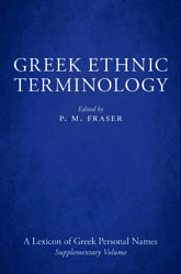 Greek Ethnic Terminology